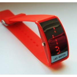 Led laikrodis raudonas