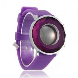 Moteriškas Led laikrodis violetinis