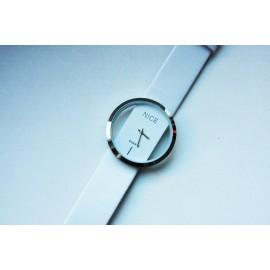 Moteriškas laikrodis NICE baltas