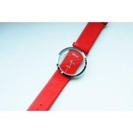 Moteriškas laikrodis NICE raudonas