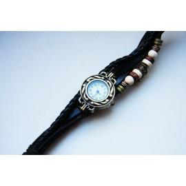 Laikrodis - moteriška apyrankė juoda