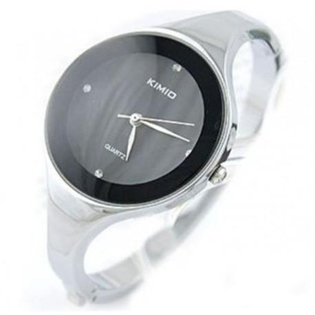 Moteriškas laikrodis juodas Kimio