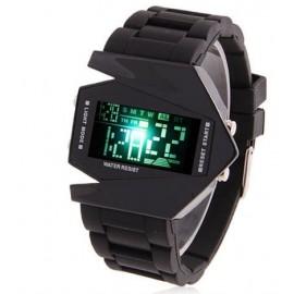 Vyriškas led laikrodis juodas