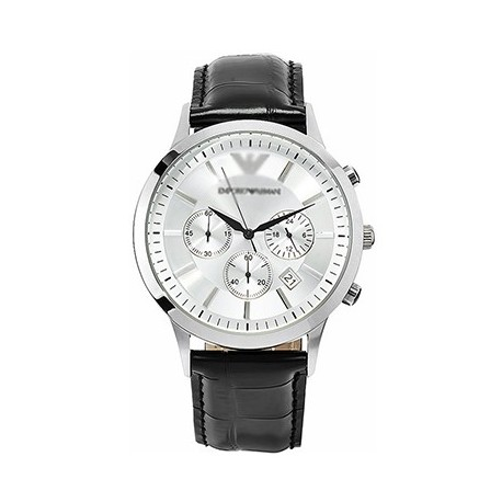 Laikrodis baltu ciferblatu [Armani]