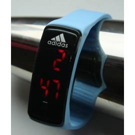 Led laikrodis [Adidas] [Šviesiai mėlynas]