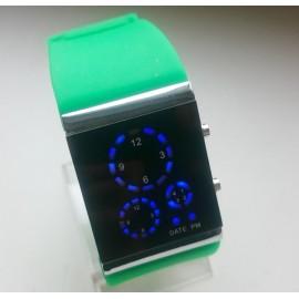 Stilingas Led laikrodis [Žalias]