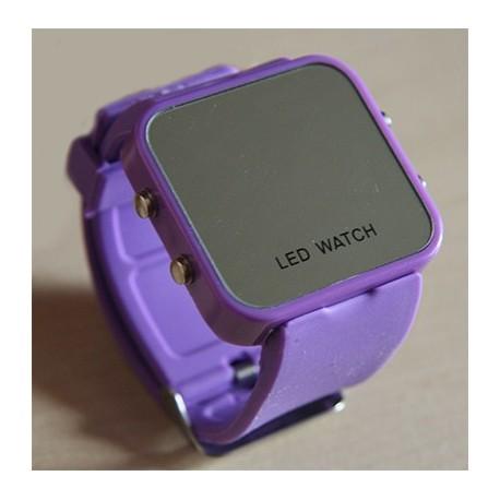Led laikrodis (violetinis)