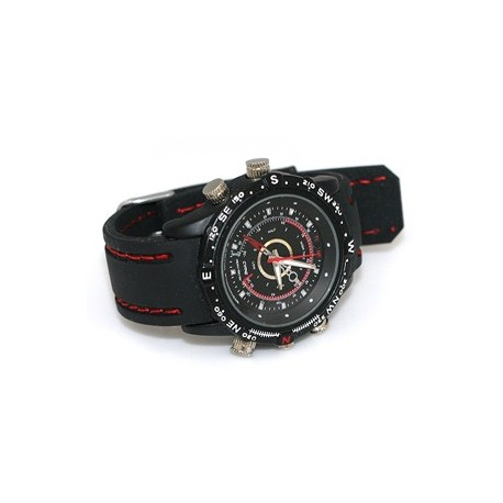 Kamera užmaskuota rankiniame laikrodyje