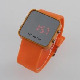 Led laikrodis [Oranžinis]