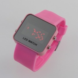 Led laikrodis [Rožinis]